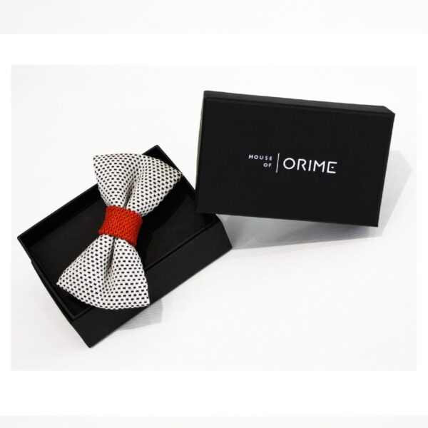 House of Orime Παπιγιόν White-Orange