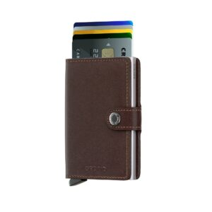 secrid miniwallet original dark brown 2