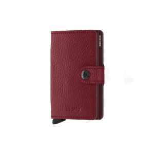 secrid miniwallet vegetable tanned rosso 1
