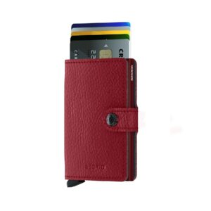 secrid miniwallet vegetable tanned rosso 2