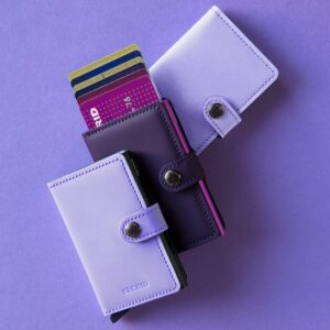 secrid miniwallet matte purple rose 8