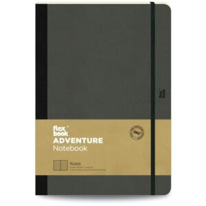 Flexbook adventure-notebook-ruled-large-off Black 1
