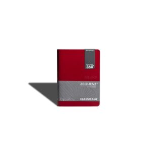 Zequenz Notebook A6 CS Red 1