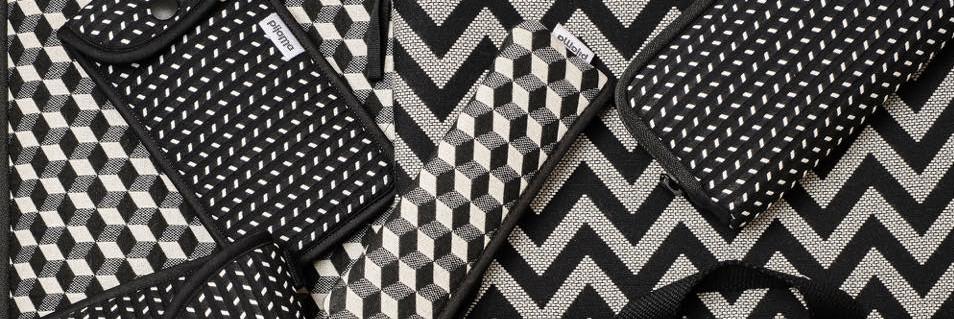 pijama banner black + white