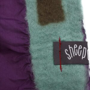 sheepcount joyful scarf silk purple 2