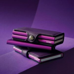 secrid miniwallet matte purple