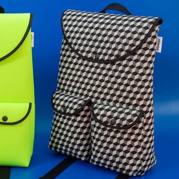 Bag Pijama Pocket Backpack Optical Check