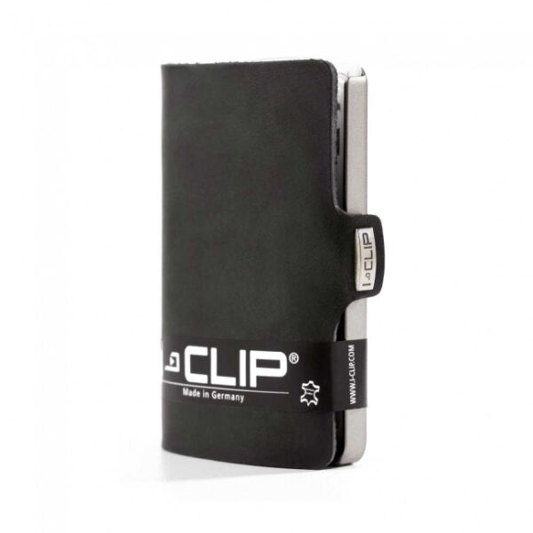 i-clip Πορτοφόλι Soft Touch Black