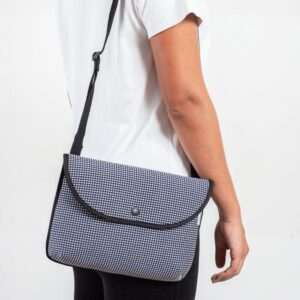 pijama shoulder bag micro check 2