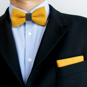 yumi pocket square yellow