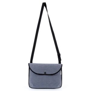 pijama shoulder bag micro check 3