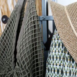 Colores Τσάντα Θαλάσσης Fishnet Dusty Olive 2